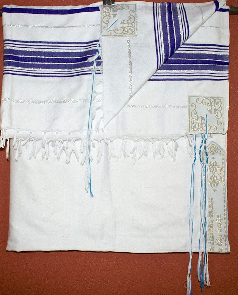 Blue and Sllver Tallit